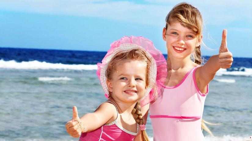 letná dovolenka, leto, more, deti, pláž,...