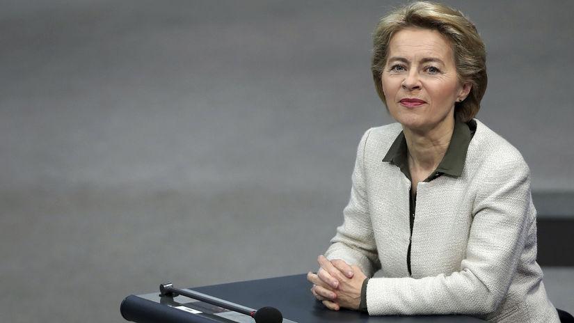 nemecko, európska komisia, Ursula von der...