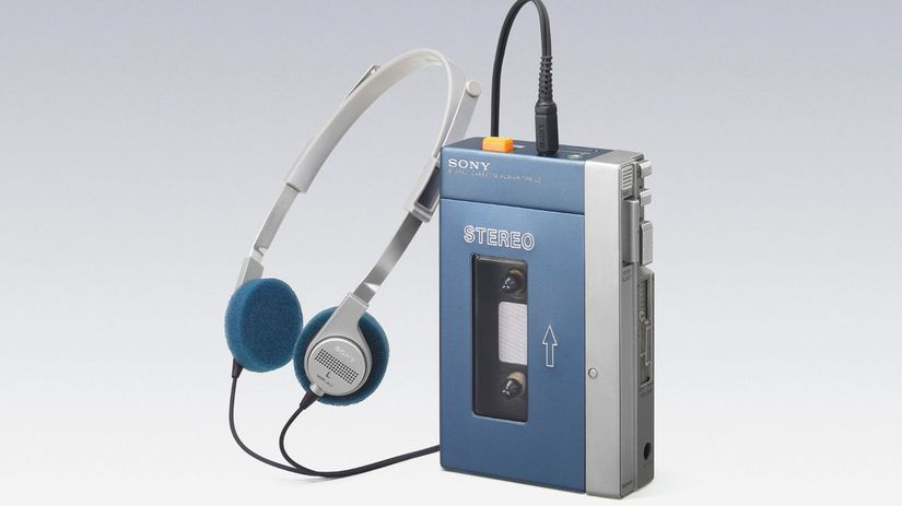 Sony Walkman, Walkman, kazetový prehrávač