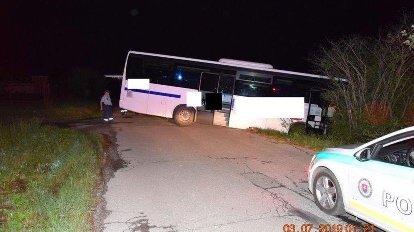 SR Košice Slanec polícia alkohol autobus vodič KEX