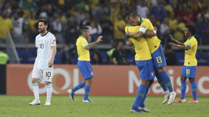 Lionel Messi, Brazília
