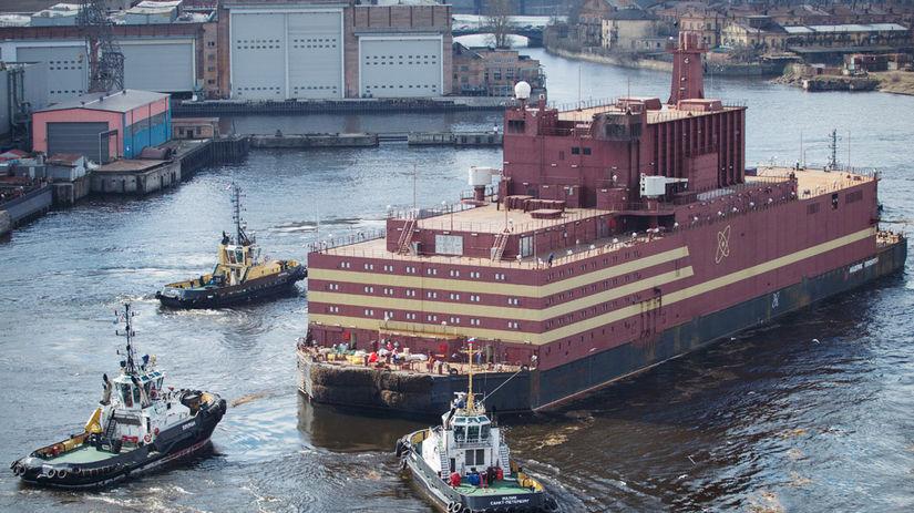 Akademik Lomonosov, jadrová elektráreň