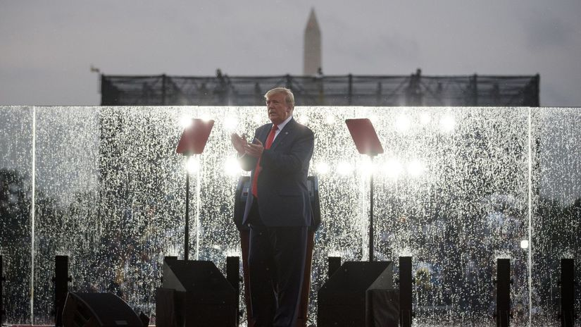 Trump / Deňň nezávislosti