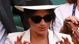 Vojvodkyňa Meghan zo Sussexu.