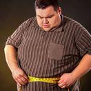 obezita, muž