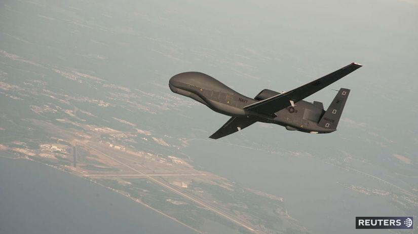 bezpilotný, dron, global, hawk