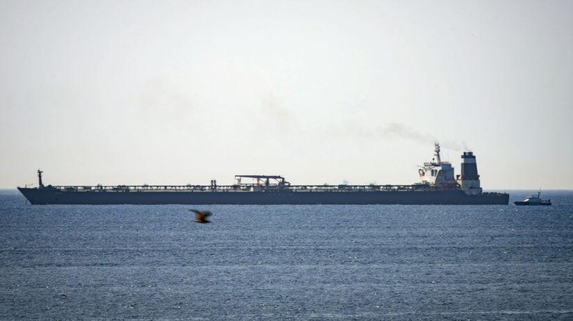 Gibraltar, tanker, loď, more, irán