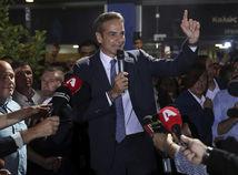 Grécko / voľby / Kyriakos Mitsotakis /
