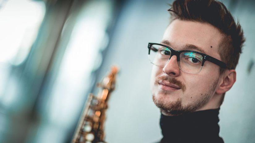Saxofonista Nikola Bankov