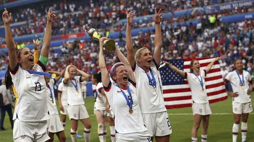 USA, futbalistky