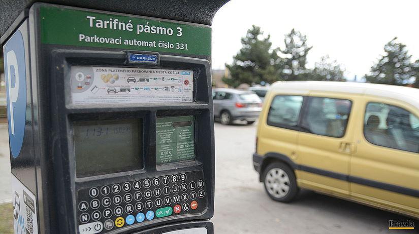 Košice / parkovanie /