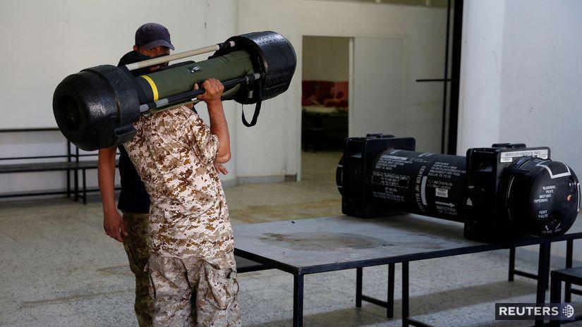 líbya, javelin