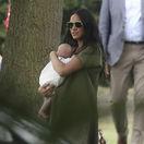 Meghan, vojvodkyňa zo Sussexu so synčekom Archiem