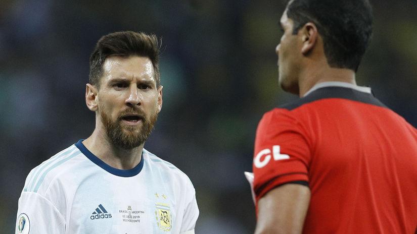 Roddy Zambrano, Lionel Messi