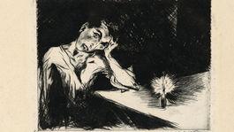 Utrápený (Autoportrét), 1929
