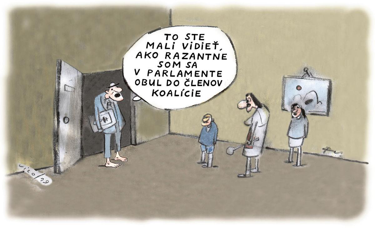 Karikatúra 10.07.2019