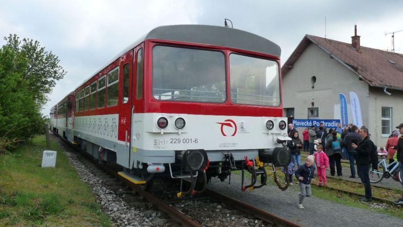 Vláčik Záhoráčik, vlak