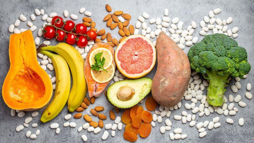 zdravá strava, ovocie, zelenina, orechy, výživa