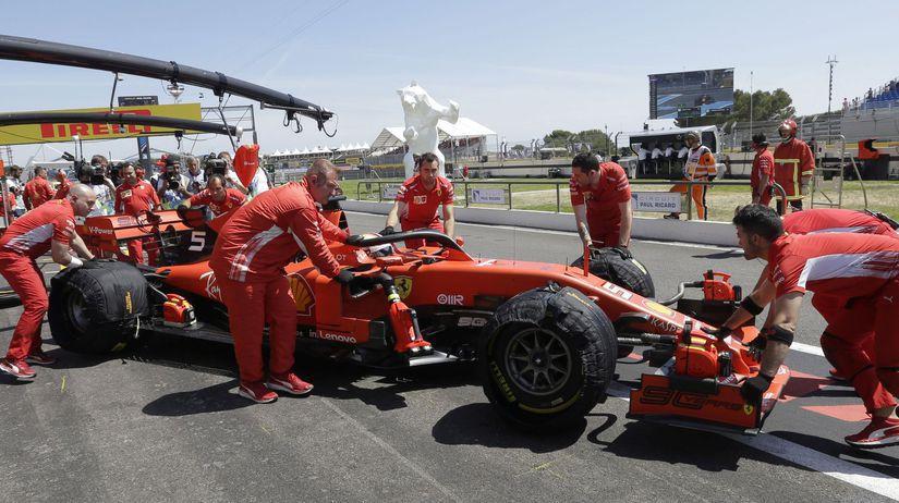 Ferrari, mechanici