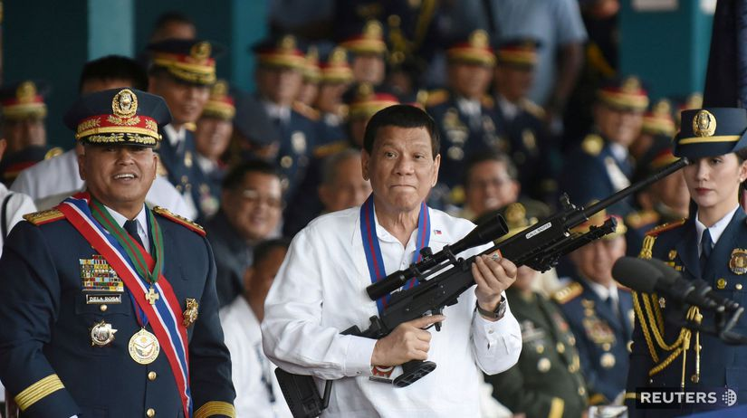 filipíny, rodrigo duterte, zbraň