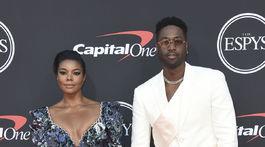 Herečka Gabrielle Union a jej manžel, basketbalista Dwyane Wade.