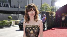 Herečka Linda Cardellini prišla odovzdať jednu z cien na ESPY Awards v Los Angeles.