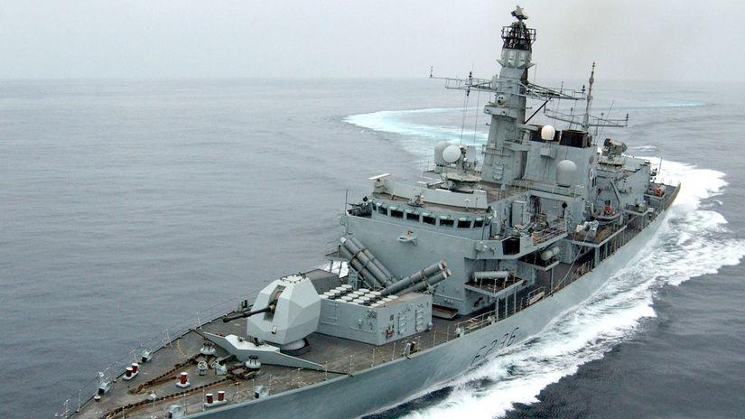 Loď / britské námorníctvo / HMS Montrose /