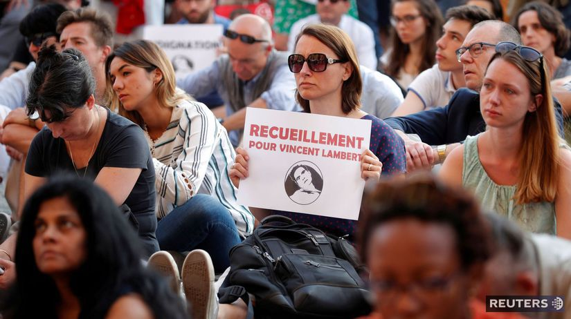 Vincent Lambert, protest