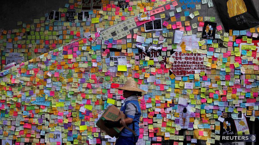 HONGKONG, lennonova stena