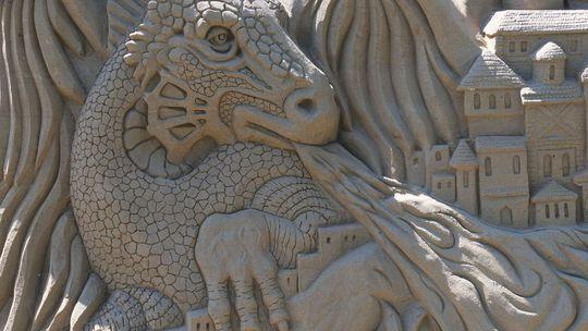 Liptov má novú atrakciu - sochy z piesku