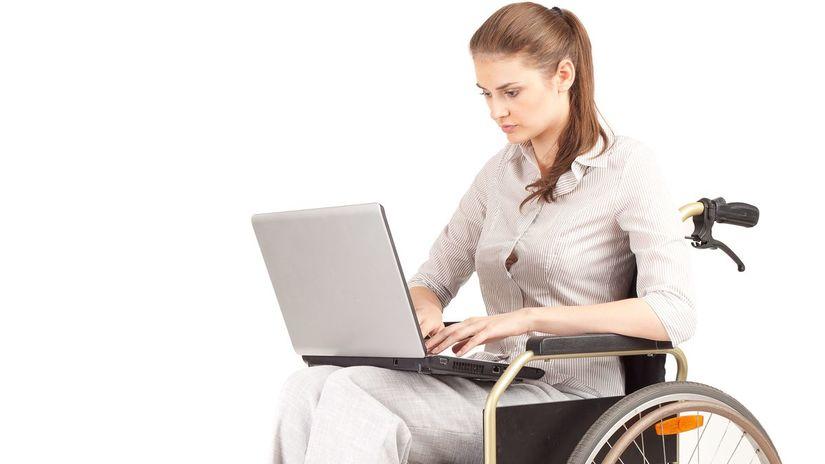 práca, invalidný dôchodca, vozíčkar, vozík,