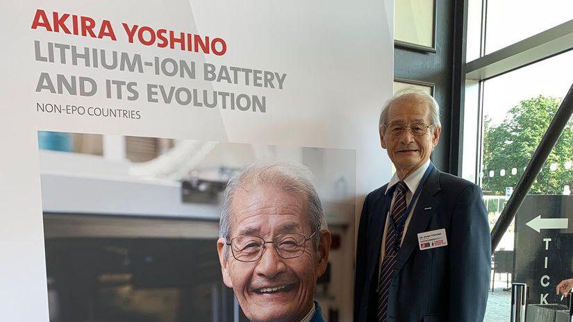 Akira Yoshino, tvorca Li-Ion, Li-Ion, European...