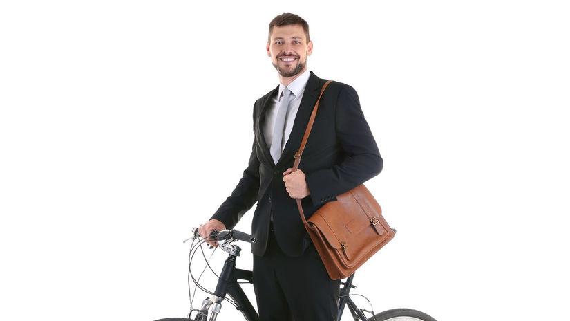 bicykel, cyklista, zamestnanec, práca,