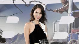 Herečka Eiza Gonzalez na premiére filmu Hobbs & Shaw.