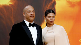 Herec Vin Diesel a jeho dlhoročná partnerka Paloma Jimenez.