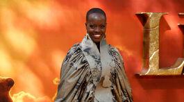 Herečka Florence Kasumba.