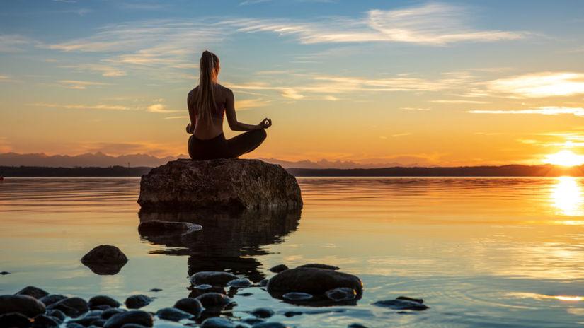 meditácia, pokoj, more, relax, cvičenie, joga,...