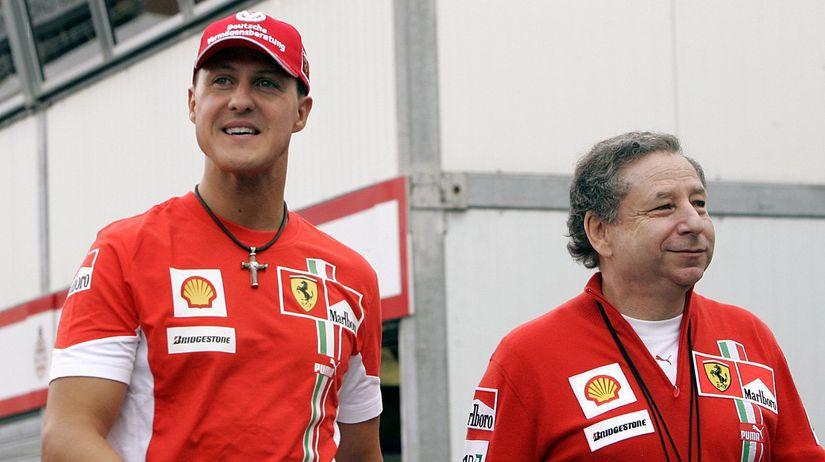 Michael Schumacher, Jean Todt