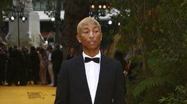 Na londýnsku premiéru dorazil aj Pharrell Williams.