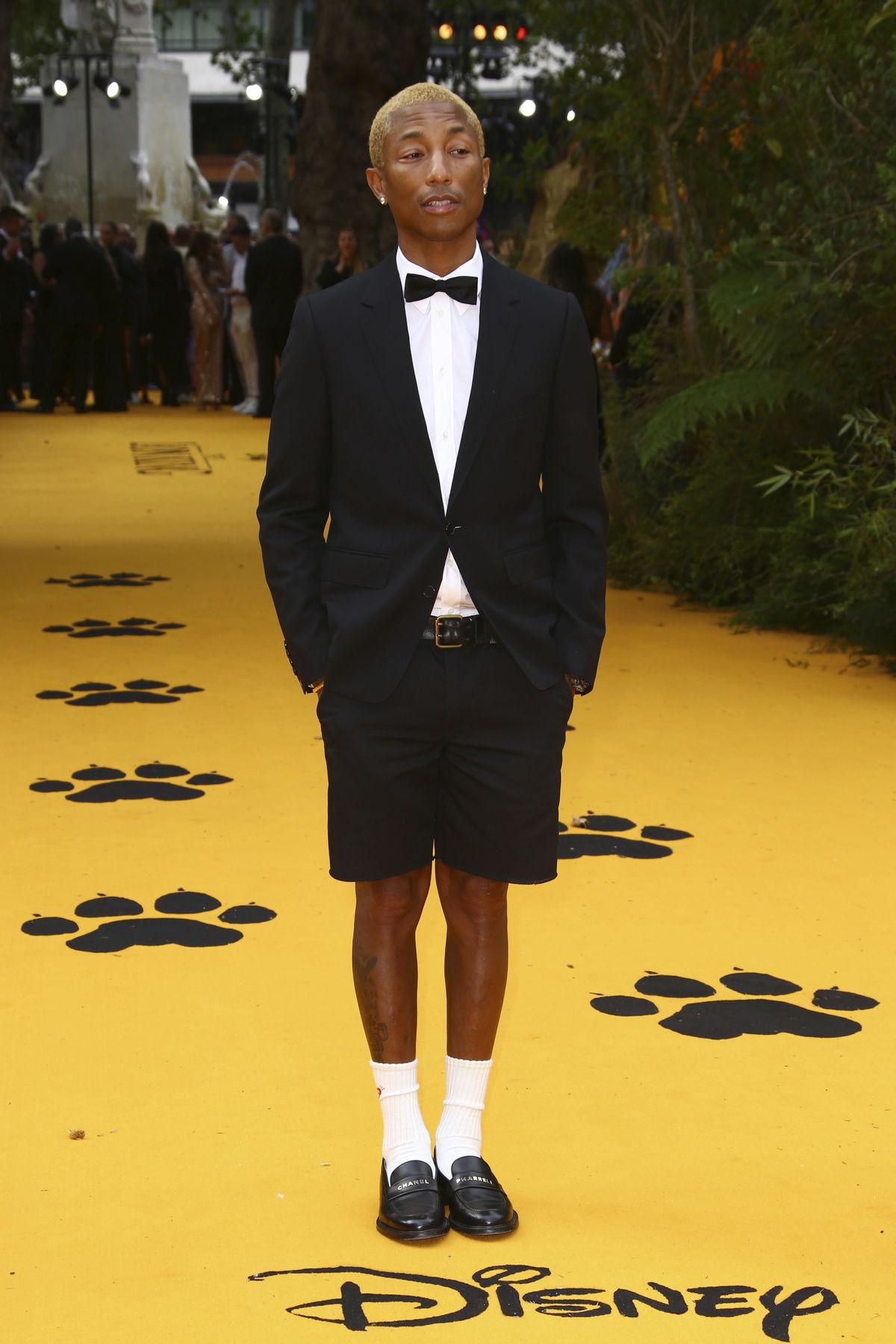 Na londýnsku premiéru dorazil aj Pharrell...