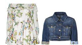 Šaty aj skrátená denimová bunda značky Liu Jo, info o cene v predaji.