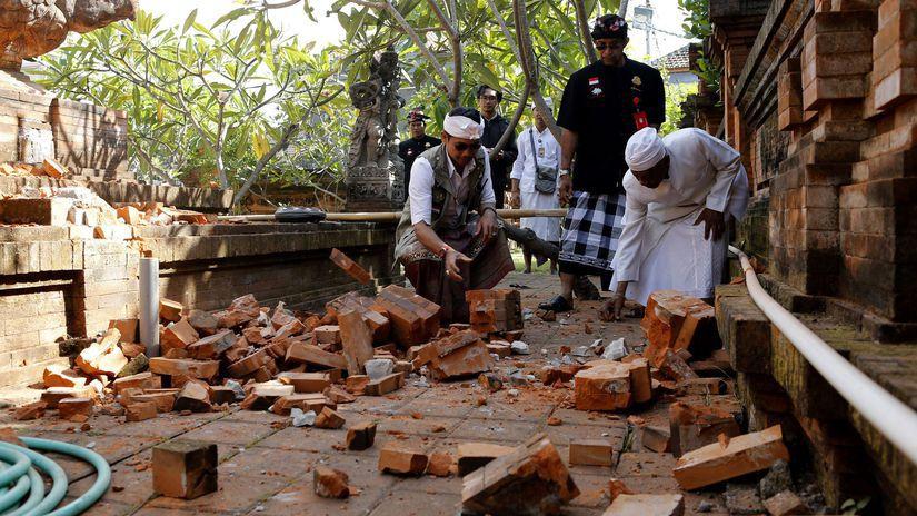 Indonézia / zemetrasenie /