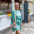 Na krste sa objavila aj bývalá moderátorka Zuzana Belohorcová.
