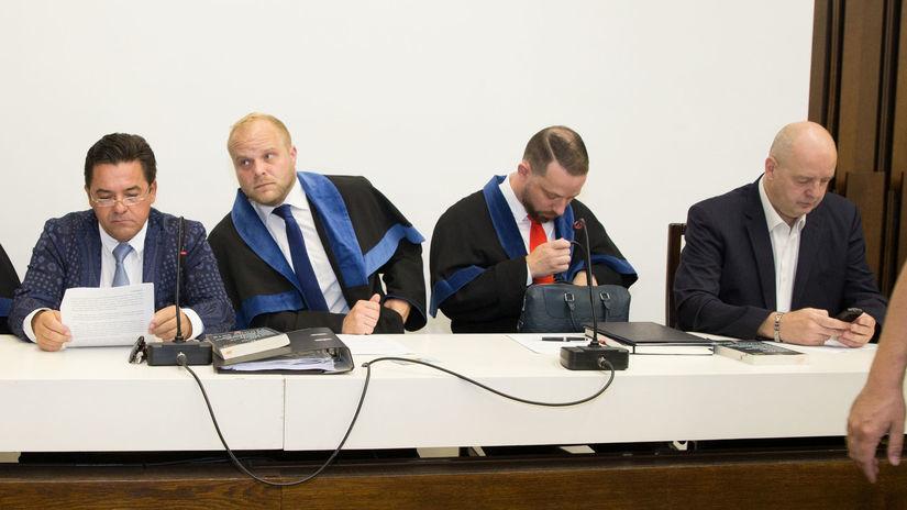 súd, pavol Rusko, Marian Kočner, kauza zmenky