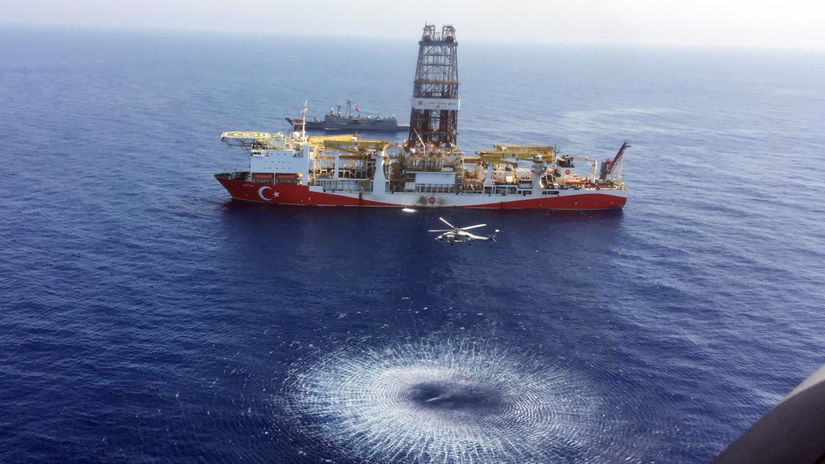 turecko, cyprus, ropa, plyn, prieskumné vrty