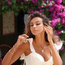 Herečka Madalina Ghenea stihla v Portofine aj absolvovať fotenie.