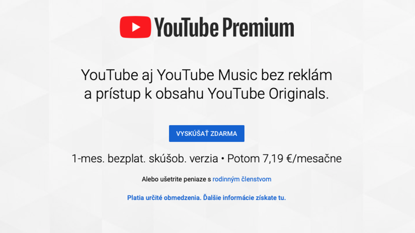 YouTube Premium, YouTube Music,