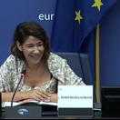Nemám rada politické bľabotanie, povedala v Štrasburgu Nicholsonová