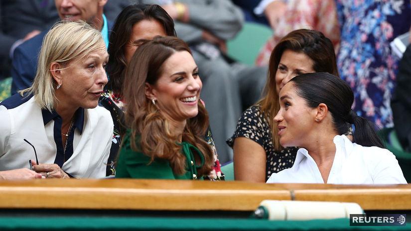 Martina Navrátilová, Kate Middleton, Meghan Markle