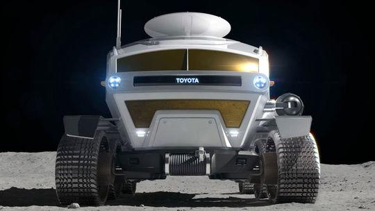 Toyota mieri na Mesiac. Postaví lunárny 'karavan' na vodík